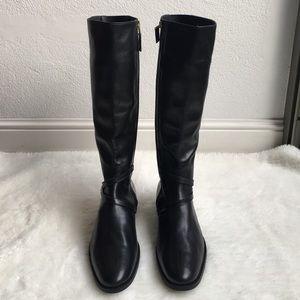 LK Bennett Shoes - L.K. Bennett Black Leather Boots size 42