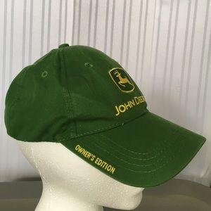 John Deere Accessories - NWOT owners edition John Deere hat