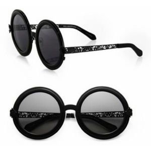Karen Walker Accessories - Karen Walker Peek-a-Boo Black Sunglasses *NWT*