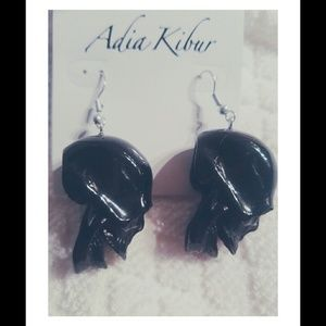 Adia Kibur Jewelry - SALE!! Skull Earrings