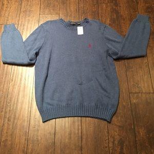 Polo by Ralph Lauren Other - NWT Polo Ralph Lauren Blue Sweater