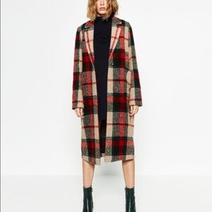Zara Jackets & Blazers - 🎈 SALE 🎈Zara checked coat