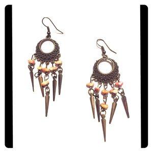 Pair of dangling earrings ❤️