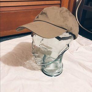 Accessories - Tan baseball cap women's