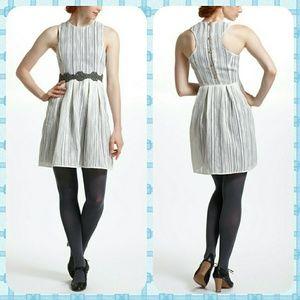 Anthropologie Spun Lace Racerback Dress