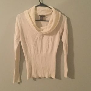 Lot801 Sweaters - White cowl neck sweater
