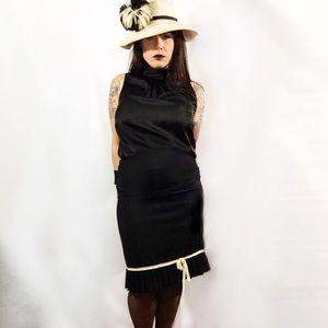 Barneys New York CO-OP Dresses & Skirts - CO-OP WOOL PENCIL SKIRT WITH BOTTOM PLEAT MEDIUM