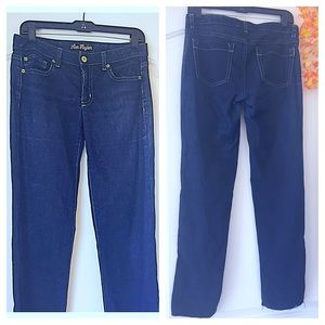ANN TAYLOR Dark Blue Slim Fit Jeans 🤗💙