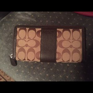 Coach Handbags - Authentic COACH full size zip around wallet
