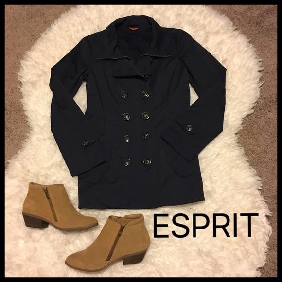 Jackets Beautiful Spring amp; Classy Navy 2 Esprit Coat Coats Trench daPwOqII