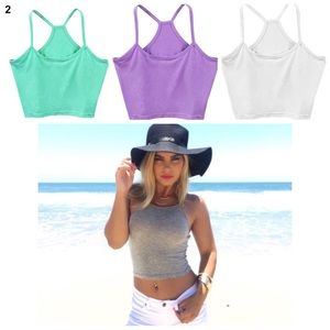 Tops - Summer Crop top