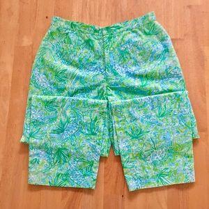 "Lilly Pulitzer Pants - Lilly Pulitzer ""Everglades"" Capri Pants"