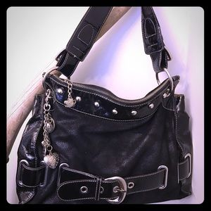 Kathy Van Zeeland Handbags - Kathy Van Zeeland black shoulder bag