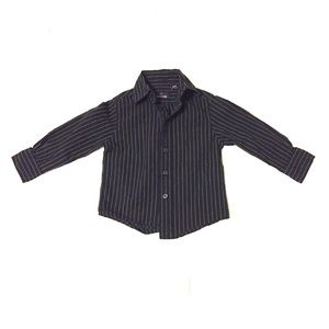 Class Club Other - Black & White Pinstripe Button Down