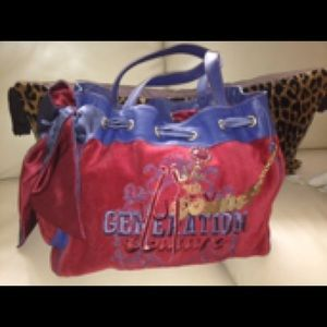 Handbags - Juicy couture red blue daydream bag