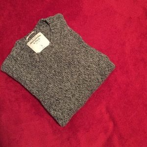 Abercrombie & Fitch Other - Abercrombie Men's Gray Muscle Sweater Large
