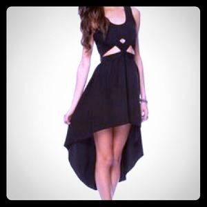 Keepsake Hi Low Dress with Cutouts