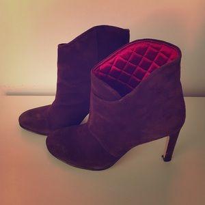 Sigerson Morrison Shoes - Sigerson Morrison suede ankle boots. Sz 7.5