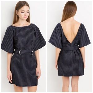 Finders Keepers Dresses & Skirts - Finders Keepers Striped Low Back Dress
