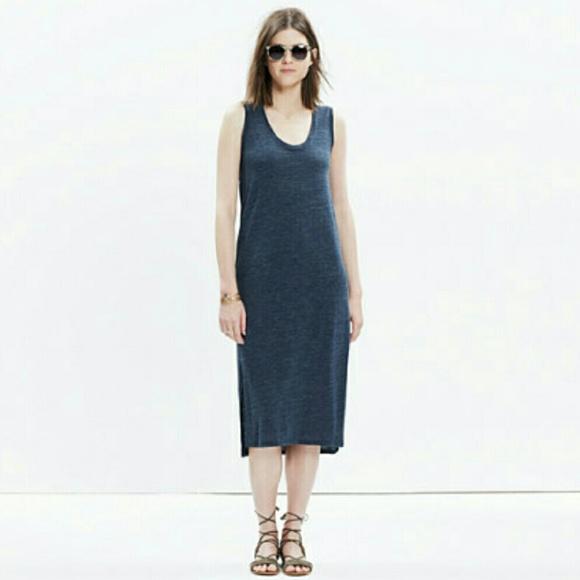 aae03350e32 Madewell Dresses & Skirts - Madewell Jersey Tank Dress {Gray}