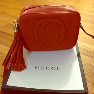 Gucci Handbags - Gucci disco cross body bag.