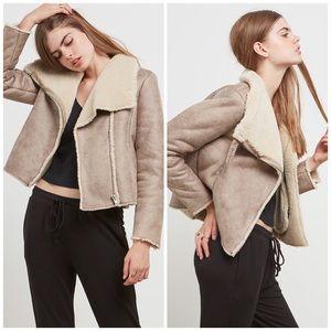 BB Dakota Jackets & Blazers - BB Dakota Faux Shearling Coat