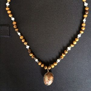 Other - Genuine gemstone handmade unisex necklace