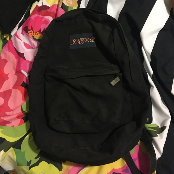 limpid in sight high quality discount coupon Black Jansport backpack