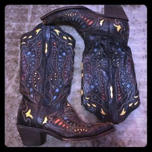 Corral Butterfly Cowboy Boots