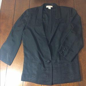 Saks Fifth Avenue Jackets & Blazers - Flash sale! Saks fifth avenue silk blazer