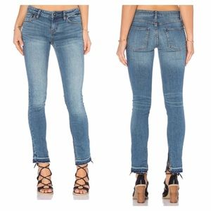 Free People Denim - NEW Free People Low Rise Side Slit Jeans