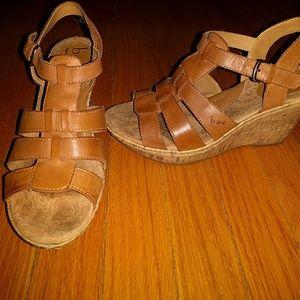 b.o.c. Shoes - b.o.c. tan wedges