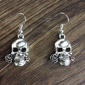 10 for $20 Sale!! Rose & Sugar Skull Earrings