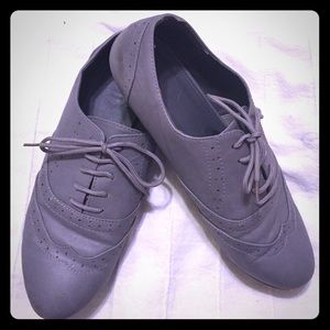ollio Shoes - Oxford flat dress shoes