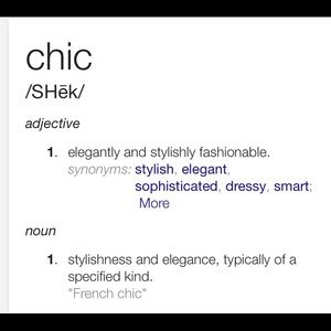 Other - Live Life. Be chic.