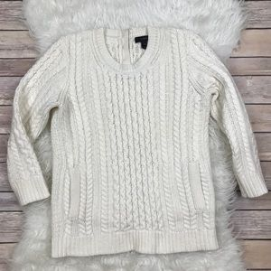 J. Crew Sweaters - J.Crew Cable Knit Pocket Sweater