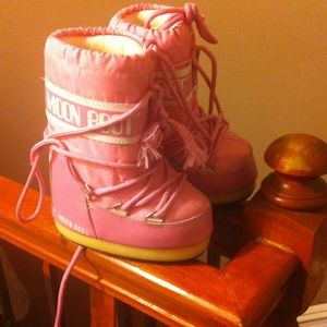 Moon Boot Other - Girls Pink Moon Boots