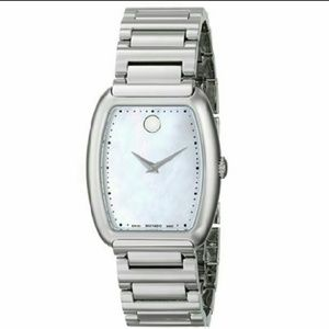 Movado Accessories - NWT movado stainless steel MOP watch