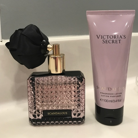 47d1202e5a38a Victoria Secret Scandalous Perfume & Lotion