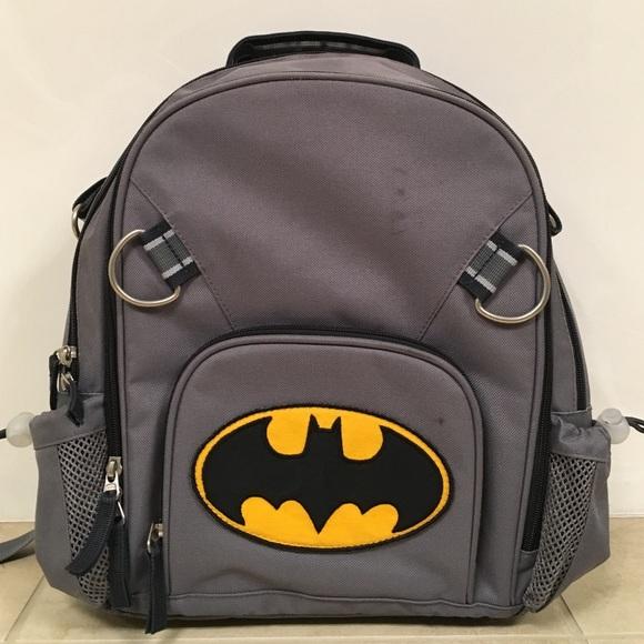 8ecefe560e Batman Backpack Pottery barn kids. M 58818b2ed14d7bd81a0402fc