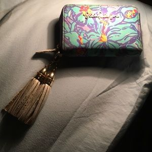 Lilly Pulitzer clutch wallet