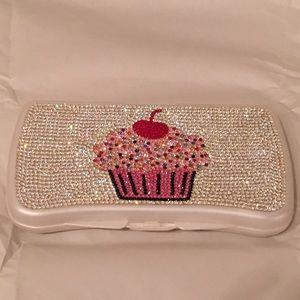 Skip Hop Handbags - Baby Bling wipe Case Swarovski Crystal cupcake