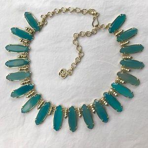 Kendra Scott Jewelry - Gabriella Statement Necklace in Blue Agate