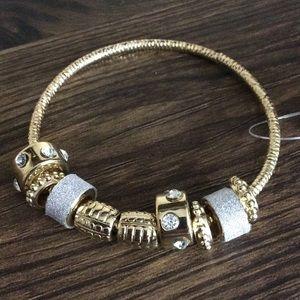 10 for $20 Sale !  Rhinestone Charm Bracelet