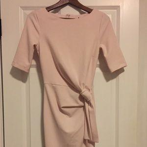 ASOS size 0 Blush Midi Work dress