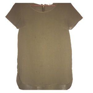 Japan Rags Tops - Olive Green Japna tunic top