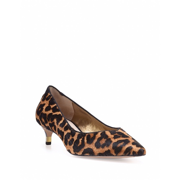 Sam Edelman Pony Hair Leopard Kitten