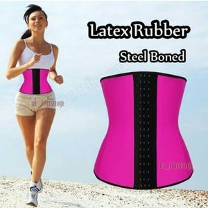 Other - Latex top quality waist trainer 3 rows   steel bon