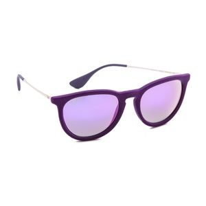 Ray-Ban Accessories - Ray-Ban Purple Erika Velvet Sunglasses - Violet
