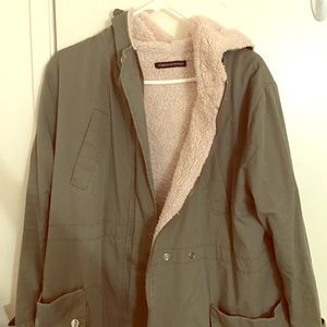 Foreign Exchange Jackets & Blazers - Green outerwear jacket